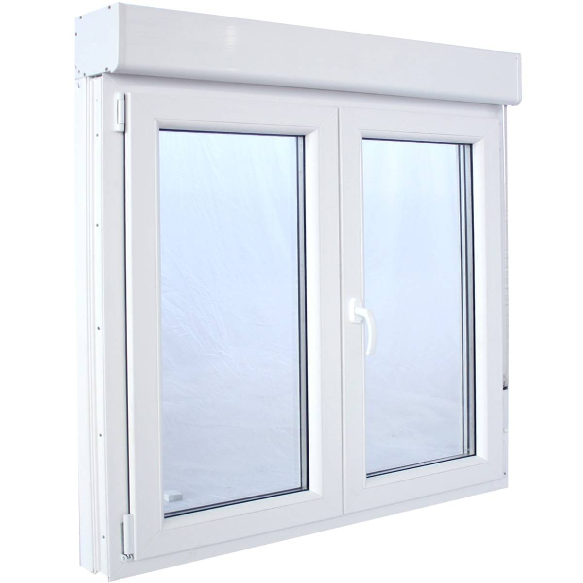 ventana pvc blanco persiana y mosquitera